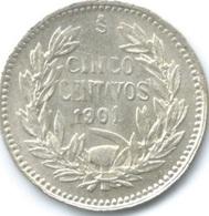 Chile - 1901 - 5 Centavos - KM155.2 - AUNC - Chile