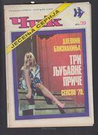 MAGAZINE CIK, SERBIAN, 12X9 Cm, 1970/39, EROTICA, STRIP BETMAN ** - Slav Languages