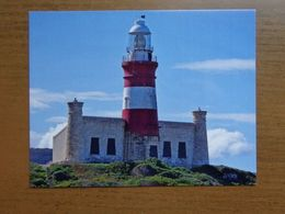 Vuurtoren, Phare, Lighthouse / South Africa Lighthouse, Cape Agulhas Lighthouse -> Unwritten - Lighthouses
