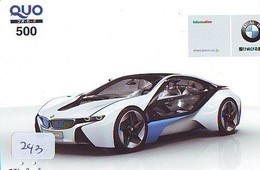 TELEFONKARTE JAPAN * BMW (243) Phonecard  * VOITURE * AUTO * CAR * Telecarte JAPON - Cars