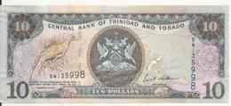 TRINIDAD ET TOBAGO 10 DOLLARS 2006 AUNC P 48 - Trinité & Tobago