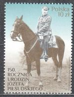 Poland 2017 150th Anniv. Of The Birth Of Józef Pilsudski - Mi.4967 - MNH (**) - 1944-.... Republic