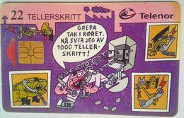 N-66 Telephone Cartoons - Noorwegen