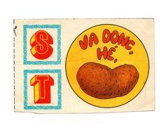 Autocollant S T Va Donc Hé, - Format : 10x15 Cm - Stickers