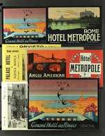 EPHEMERA - ITALY 1900's-1930's Superb Collection Of Mint Ephemera And Poster Stamps, Includes Various Exhibition Labels, - Postzegels