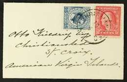 COVERS Small But Attractive Range Of Mostly 20th Cent Items Incl D.W.I. 1903 4c Bisect, Van Horne Cover, 1917 25b + 2c C - Postzegels