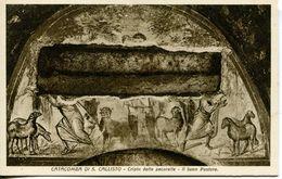 Roma  -  Catacombe Di San Callisto - Cripta Delle Pecorelle: Il Buon Pastore - Autres Monuments, édifices