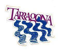 Autocollant Tarragona - Format : 11x8.5 Cm - Aufkleber