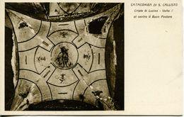 Roma  -  Catacombe Di San Callisto - Cripte Di Lucina: Il Buon Pastore - Autres Monuments, édifices