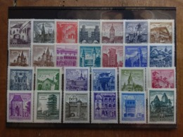 AUSTRIA 1957/62 - Vedute E Monumenti Storici - Nuovi ** + Spese Postali - 1945-.... 2de Republiek