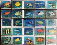 Micronesia 1993-1996 Complete Fish Set Of 25 MNH - Fische