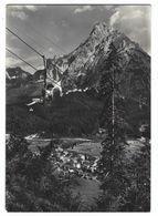 CL181 -  SAPPADA CADORE SEGGIOVIA DEL MONTE FERRO E MONTE SIERA BELLUNO 1960 CIRCA - Italia