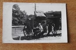 Carte Photo Les Transmetteurs Transmission Télégraphistes Allemands Avec Matériel WWI - 1914-18