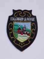 Ecusson à Coudre De Collonges-la-Rouge (19) - Ecussons Tissu