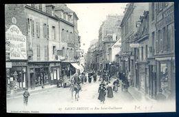 Cpa Du 22 Saint Brieuc Rue Saint Guillaume    AVR20-122 - Saint-Brieuc