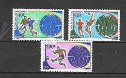 TIMBRE NEUF DU DAHOMEY DE 1970 N° MICHEL 414/16 - Benin – Dahomey (1960-...)