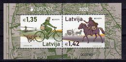 Lettland / Latvia 2020, Europa CEPT Block ** [030620Stk] - Latvia