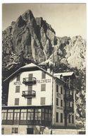 CL187 -  HOTEL FALZAREGO BELLUNO CARTOLINA DA FOTO 1930 CIRCA TENSI - Italia