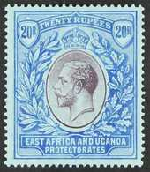 1912 - 21 20r Purple And Blue On Blue, Wmk MCA, Geo V, SG 60, Superb Mint. For More Images, Please Visit Http://www.sand - Verlage