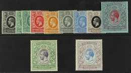 1921 Geo V Set Complete, Wmk Script CA, SG 65/75 Incl 3c Blue Green SG 66a, Fine To Very Fine Mint. (11 Stamps) For More - Verlage