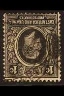 1921 KGV 1c Black, Wmk Mult Script CA INVERTED, SG 65w, Fine Used. For More Images, Please Visit Http://www.sandafayre.c - Verlage
