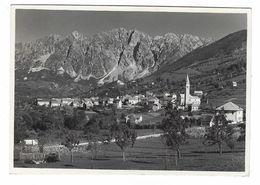 CL188 -  TAMBRE D' ALPAGO PANORAMA GENERALE SULLO SFONDO MASSICCIO MESSER BELLUNO 1948 - Italia