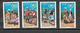 TIMBRE NEUF DU DAHOMEY DE 1969 N° MICHEL 395/98 - Benin – Dahomey (1960-...)