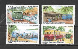 TIMBRE NEUF DU DAHOMEY DE 1968 N° MICHEL 356/59 - Benin – Dahomey (1960-...)