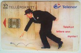 N-73 Telekort Lettere En Myntyr - Noorwegen