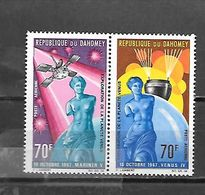 TIMBRE NEUF DU DAHOMEY DE 1968 N° MICHEL 335/36 - Benin – Dahomey (1960-...)