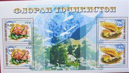 Tajikistan  2018  Mushrooms  Blue  OP  S/S  MNH - Tadschikistan
