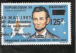 TIMBRE NEUF DU DAHOMEY DE 1967 N° MICHEL 313/14 - Benin – Dahomey (1960-...)