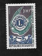 TIMBRE NEUF DU DAHOMEY DE 1967 N° MICHEL 306 - Benin – Dahomey (1960-...)