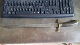 Poignard De Guerre Ou De Chasse CARL SCHLIEPIER Guerre 1870 1871 Ou 1914 1918 Venerie - Knives/Swords