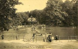 028 119 - CPA - Brussels - Bruxelles - Bois De La Cambre - Le Lac Et Le Chalet Robinson - Bossen, Parken, Tuinen