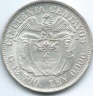 Colombia - 1932 M - 50 Centavos - KM193.2 - UNC - Colombia