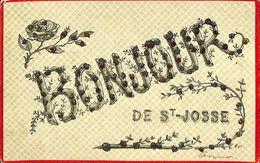 028 120 - CPA - Brussels - Bruxelles - Bonjour De St-Josse - St-Joost-ten-Node - St-Josse-ten-Noode