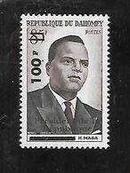 TIMBRE NEUF DU DAHOMEY DE 1961 N° MICHEL 186 - Benin – Dahomey (1960-...)
