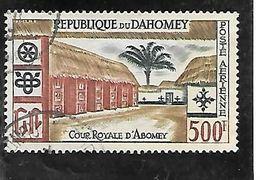 TIMBRE OBLITERE DU DAHOMEY DE 1960 N° MICHEL 174 - Benin – Dahomey (1960-...)