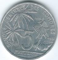 Comoros - 1984 - 5 Francs - World Fisheries Conference - KM15 - Comoros
