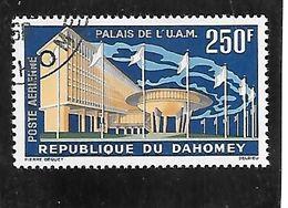TIMBRE OBLITERE DU DAHOMEY DE 1963 N° MICHEL 219 - Benin – Dahomey (1960-...)