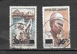 TIMBRE OBLITERE DU DAHOMEY DE 1967 N° MICHEL 304/05 - Benin – Dahomey (1960-...)