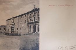 Cartolina - Oristano - Piazza Eleonora - 1901 - Oristano