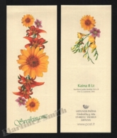 Lithuania - Lituanie 2005 Yvert C756, Flora. Flowers. Greetings - Adhesives - Booklet - MNH - Lithuania