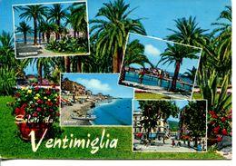 Italia - Saluti Da Ventimiglia (viaggiata 1973) - Gruss Aus.../ Gruesse Aus...
