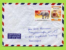 Burundi 19.....   Elephant, Fungi - 1990-99: Ongebruikt