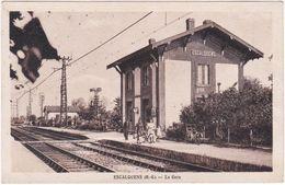 31. ESCALQUENS. La Gare - France