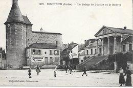 36     Issoudun    Le Palais De Justice - Issoudun