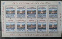 Monaco  2000 - Expo Monacophil - Vignettes Adhésives - Musée Des Timbres Et Des Monnaies Club De Monte Carlo - Neufs ** - Sin Clasificación