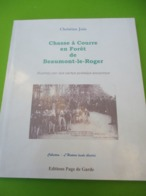 Histoire Locale/Chasse à Courre En Forêt/Beaumont Le Roger/Ch JUIN/Cartes Postales Anciennes/Page De Garde/1999  LIV184 - Normandie
